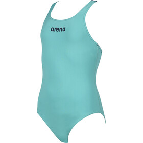 arena Solid Swim Pro One Piece Badpak Meisjes, mint/navy